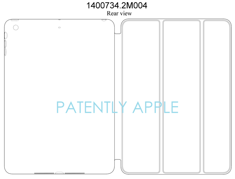 5AF - CHINA - APPLE - IPAD CASE DESIGN PATENT GRANTED REAR VIEW