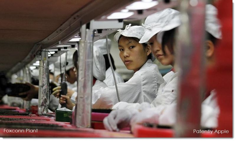 1AF Foxconn production line