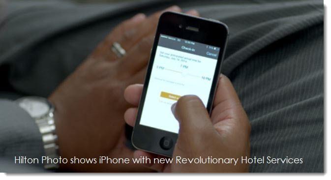 2a iPhone used in Hilton Project promotion