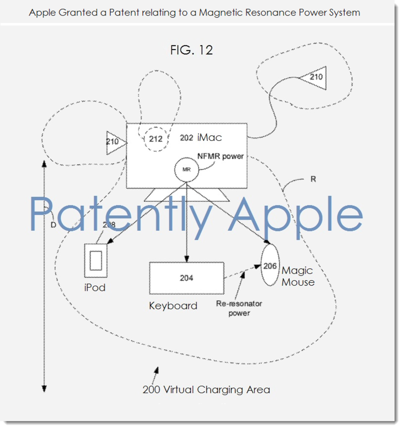 2AF - APPLE - MAGNETIC RESONANCE POWER SYSTEM PATENT FIG. 12