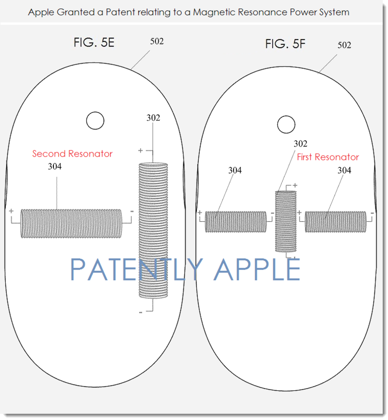 4A - APPLE - MAGNETIC RESONANCE POWER SYSTEM PATENT FIGS 5E,F