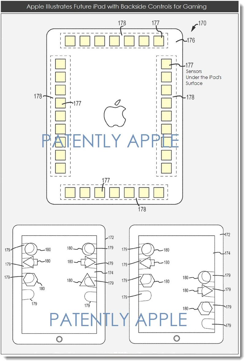 2AF - IPAD BACKSIDE GAMING CONTROLS PATENT