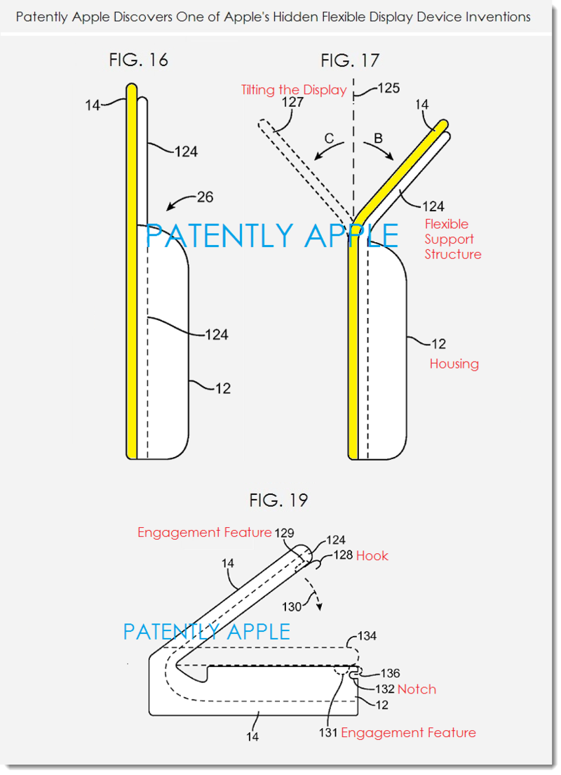 6. Apple patent - flexible display devices