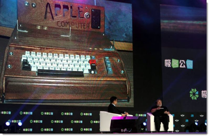 2. Wozniak at Chinese Festival on Apple's early days