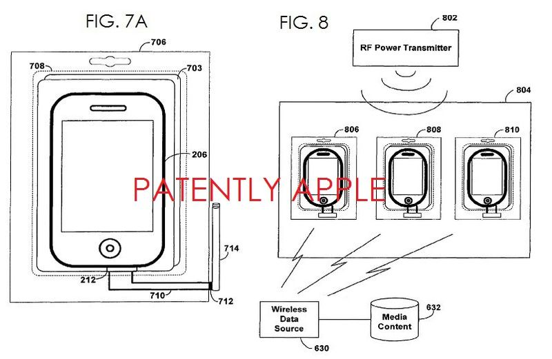 4 APPLE PATENT FIGS. 7A, 8 SMART PACKAGING