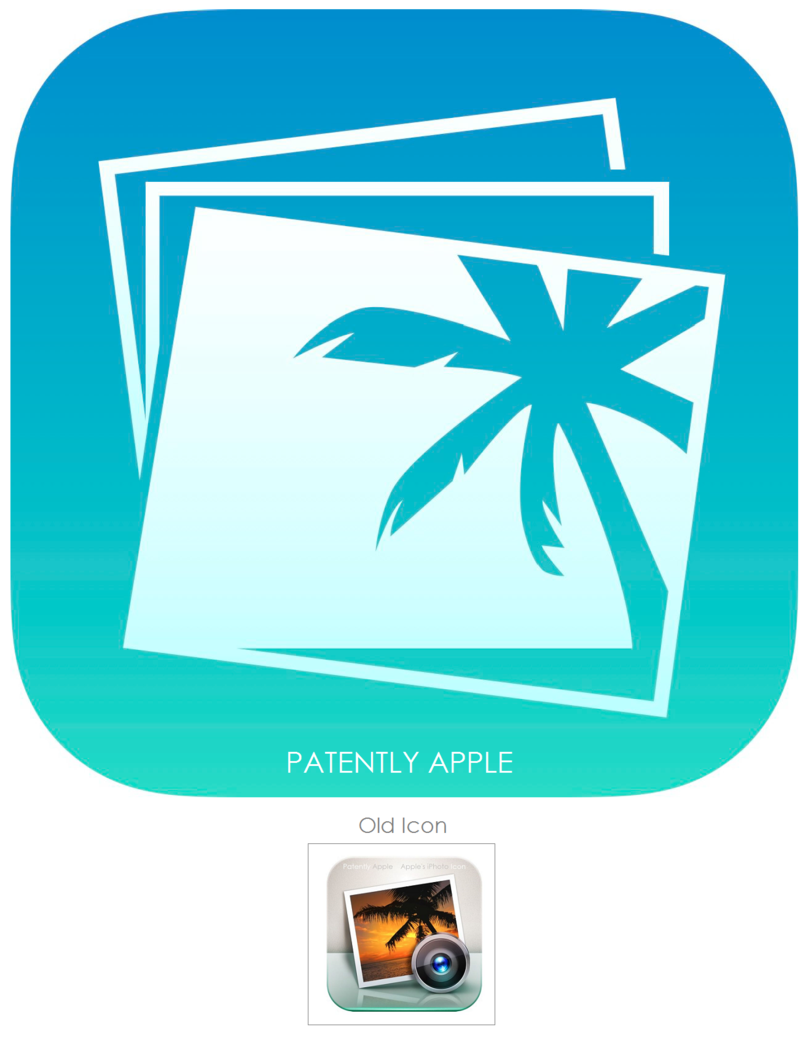 4Giant icon - IPHOTO for iOS 7 - APPLE TM FILING