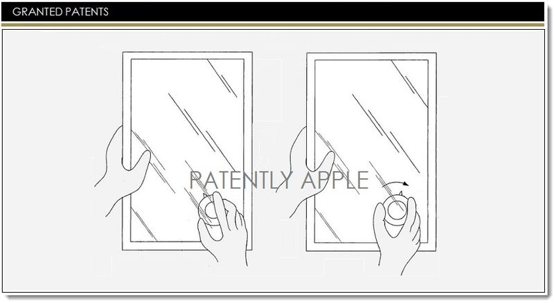 1. Cover graphic - Major Granted Patent for Apple regarding gesturing, manipulating and editing objects on touch screen