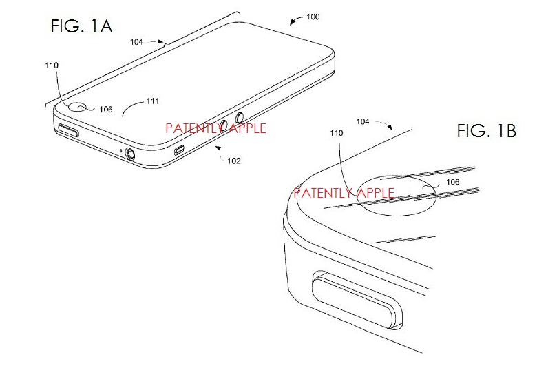 4. Apple wins Patent for integrated camera window for iPhone