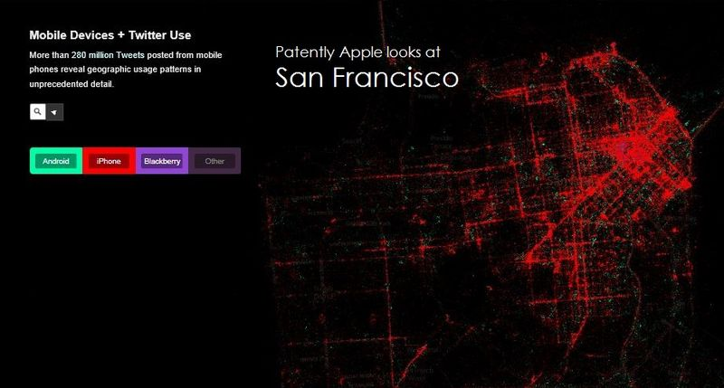 1. Cover  San Francisco twitter map