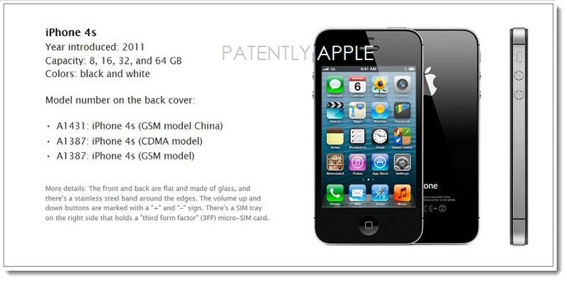 3. Apple iPhone 4S - 2011