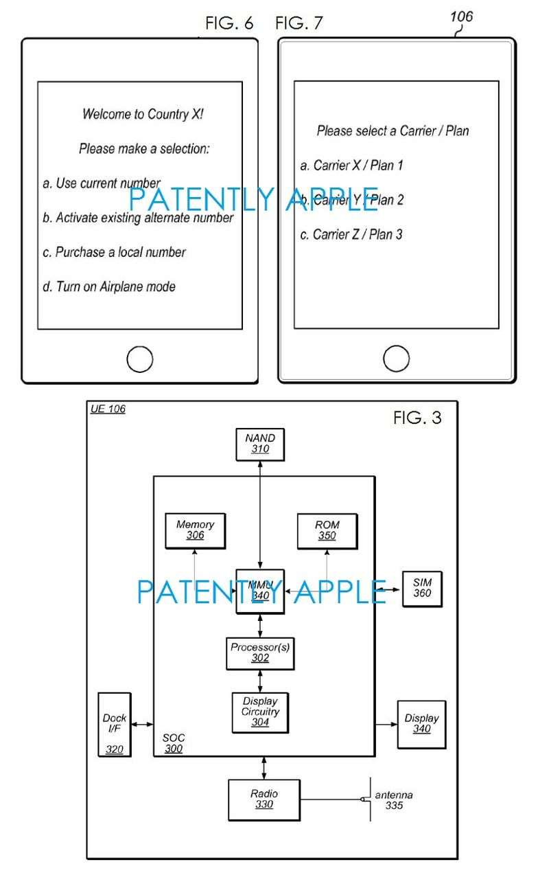 2 Apple patent figs 3, 6 and 7