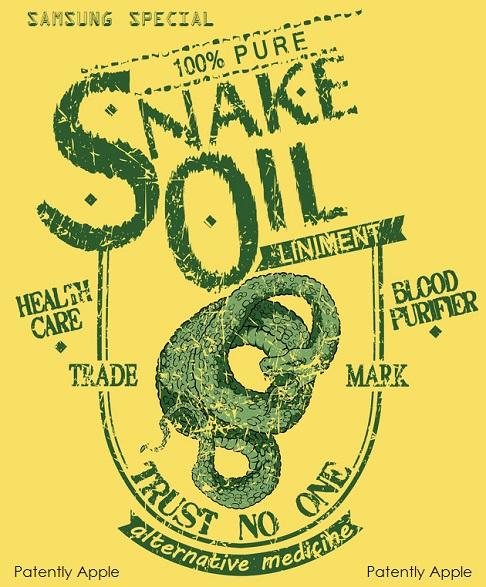 2b. Samsung Snake Oil Special