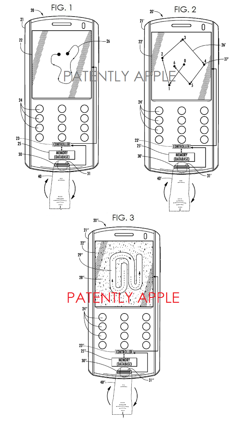 5. Second Apple patent figs 1,2, and 3