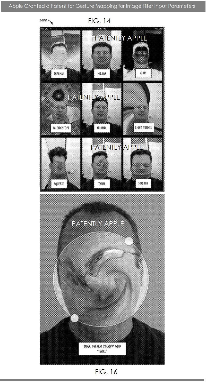 4AF - APPLE GRANTED PATENT, FIGS. 14 & 16