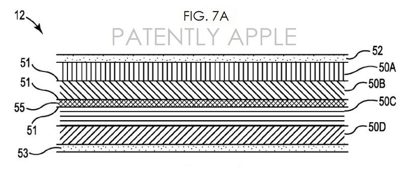 4AF. SAPPHIRE GLASS COVER - APPLE PATENT FIG. 7A