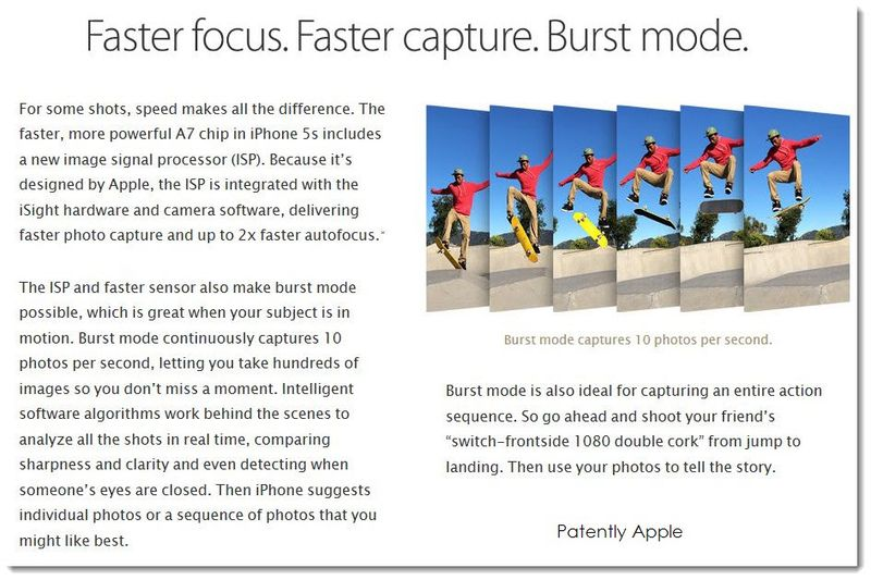 3AF IPHONE 5S ISIGHT CAMERA BURST MODE