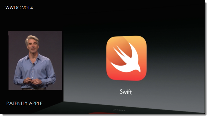 12AF New programming language for Apple called Swift