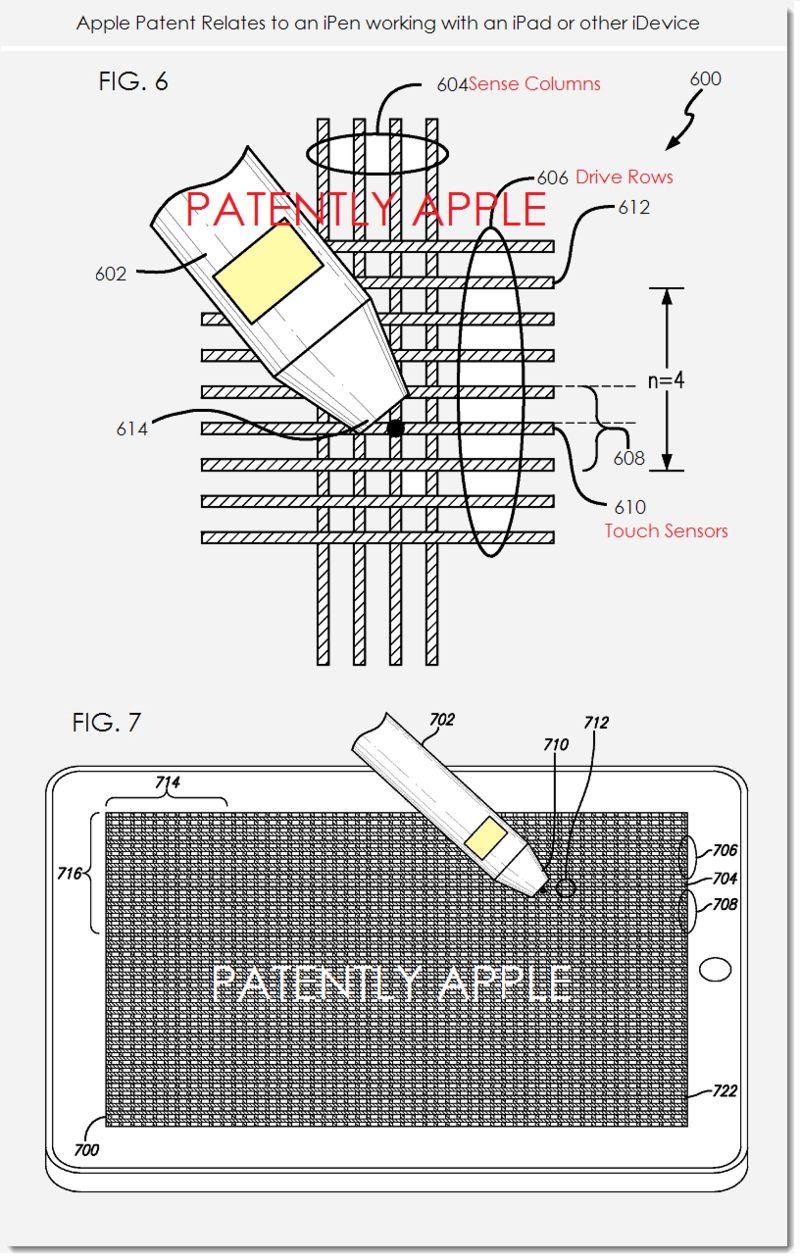 3AF APPLE IPEN RELATED PATENT, FIGS. 6 & 7