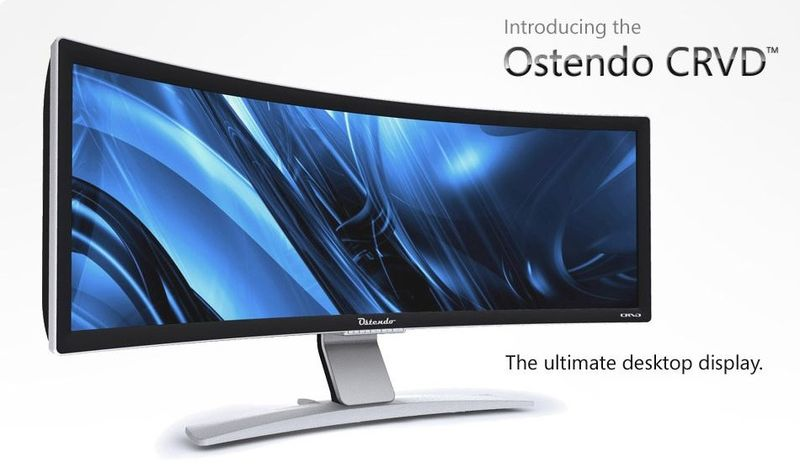 5a - 48 inch display - the Ostendo CRVD
