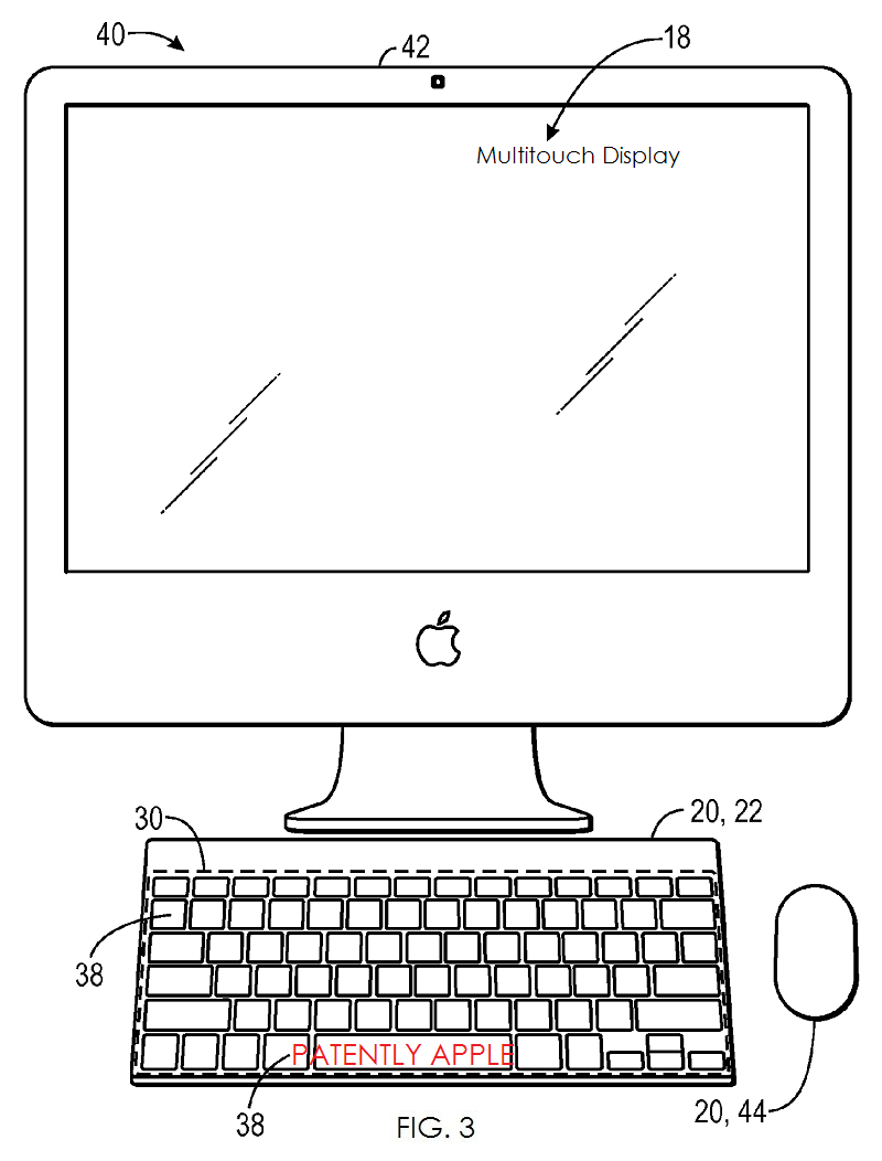 2AF - PATENT FIG. 3 MAC WITH LED KEYBOARD AND MULTITOUCH DISPLAY