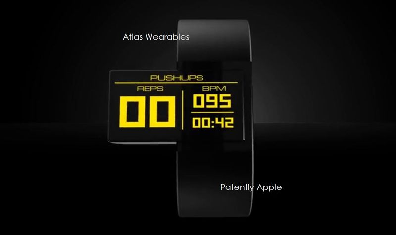 2AF ATLAS WEARABLES DEVICE