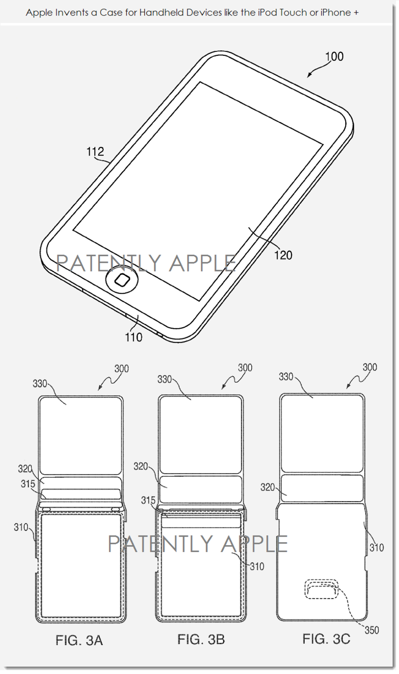 2AF NEW APPLE PROTECTIVE CASE PATENT FOR HANDHELDS