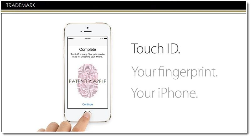 1AF - APPLE TOUCH ID, TM REFUSED BY USPTO