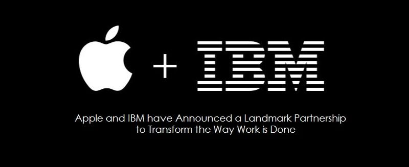 1AF APPLE + IBM - NEW PARTNERSHIP