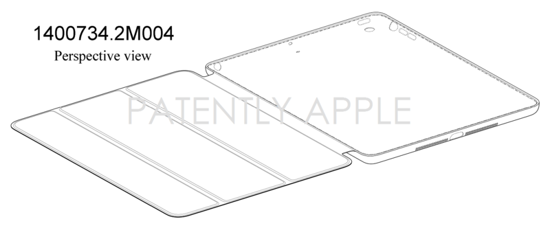 2AF - CHINA - APPLE - IPAD CASE DESIGN PATENT GRANTED  FIG. 1
