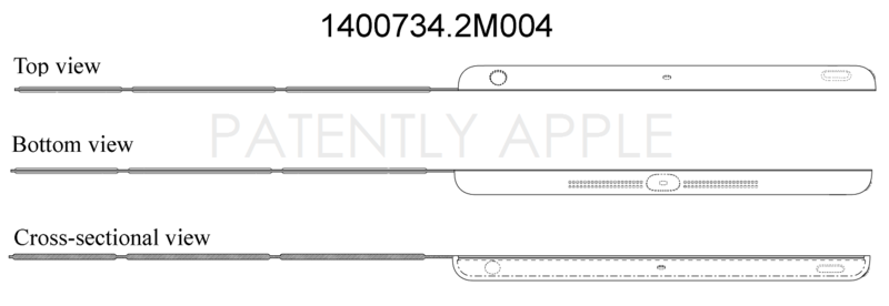 3AF - APPLE IPAD CASE - GRANTED DESIGN PATENT IN CHINA JULY 25, 2014 1400734.2M004