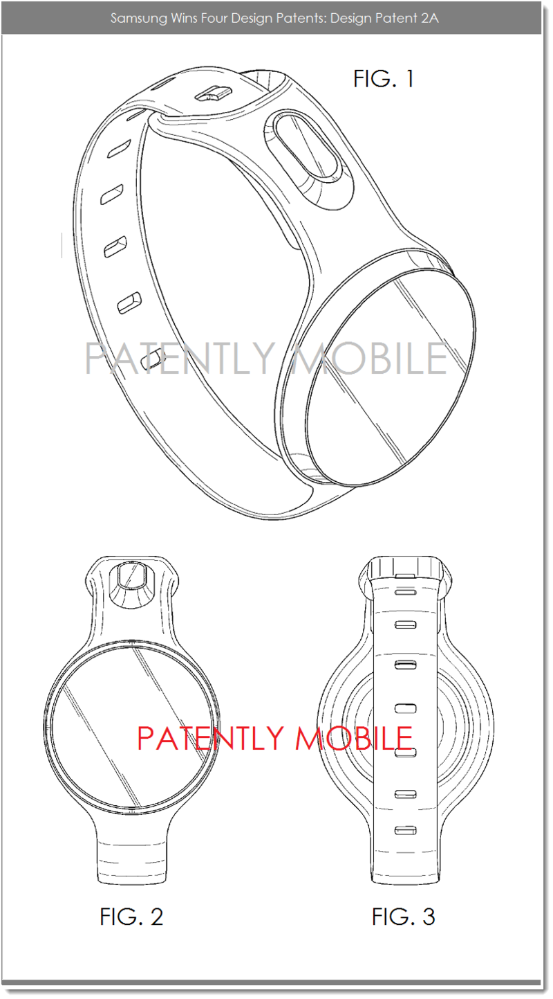2AF - SAMSUNG DESIGN PATENT 2A - FIGS. 1, 2 AND 3