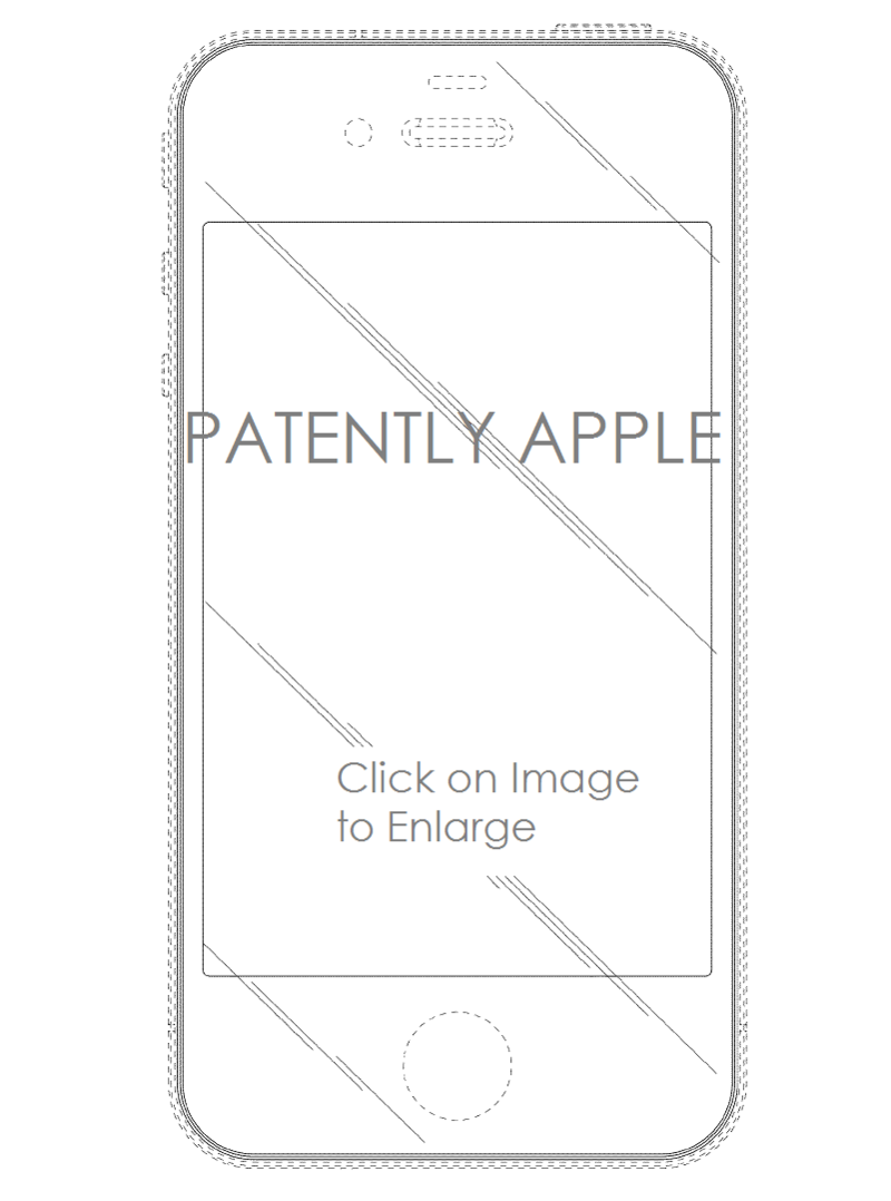 4AF2 - IPHONE 4S FACE - DESIGN PATENT GRANTED AUG 2014