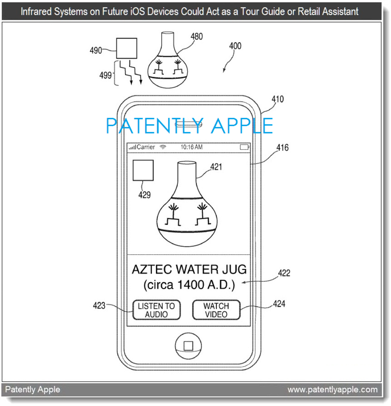 2AF APPLE PATENT  INFRARED FIG. 4