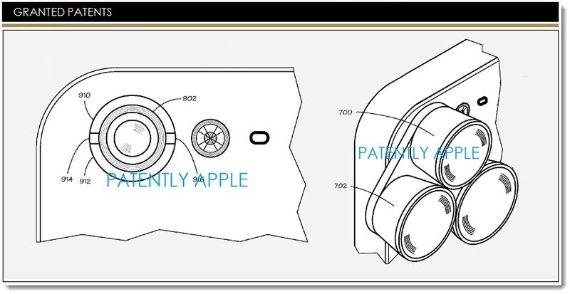 1. Apple Granted Patent for magnetic camera lenses for iDevices