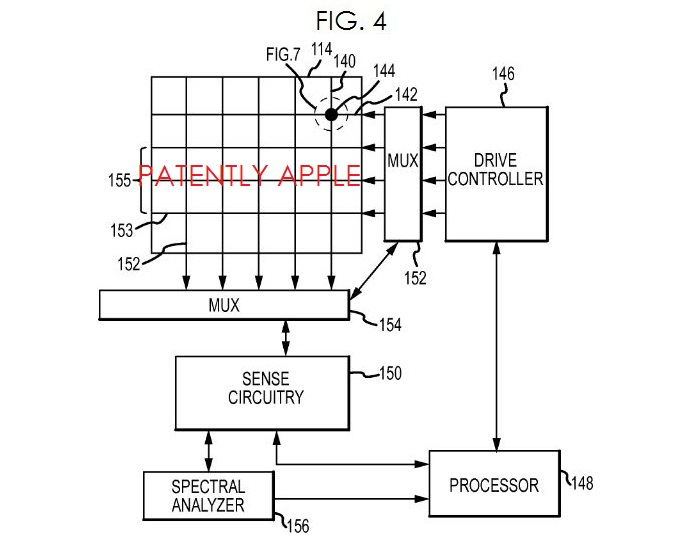 4A. Apple iPen invention patent fig 4