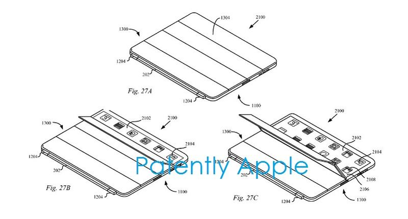 3. Apple Granted patent figs 27a,b,c The iPad's Peek Mode
