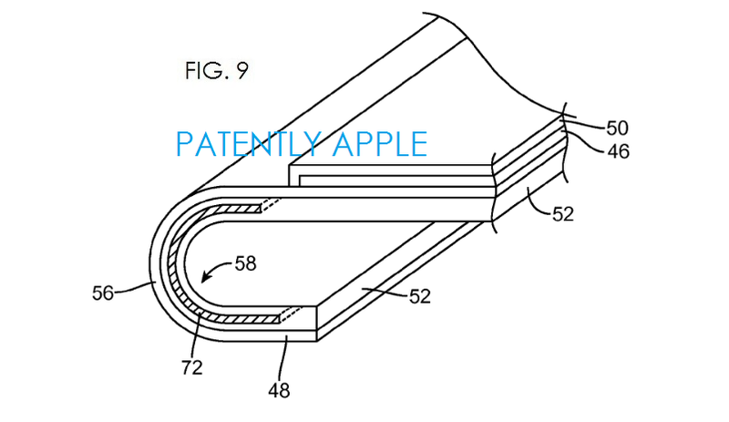 3. Apple, flex display patent fig. 9