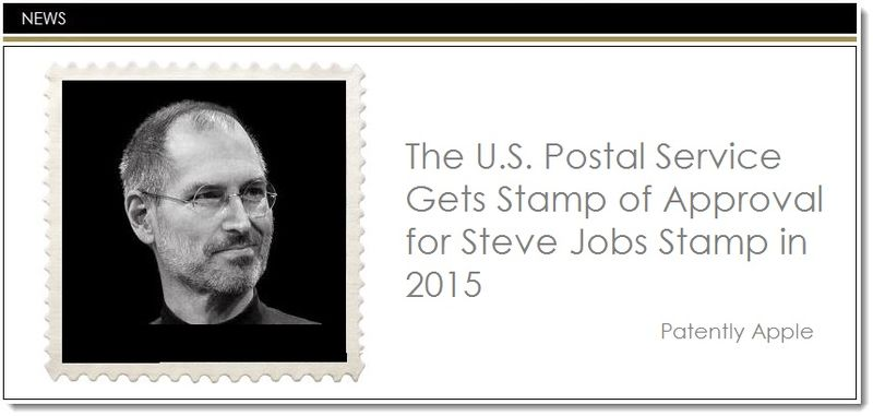 1. Steve Jobs Stamp in 2015
