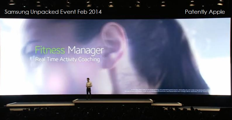 6. Samsung Software for Gear - Fitness Manager - Real Time Activity Coaching
