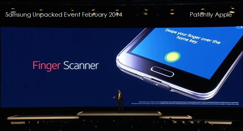 7 Samsung finally debuts Fingerprint scanning swipe type on display