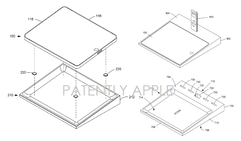 4. Apple Granted a patent for Apple Store docks