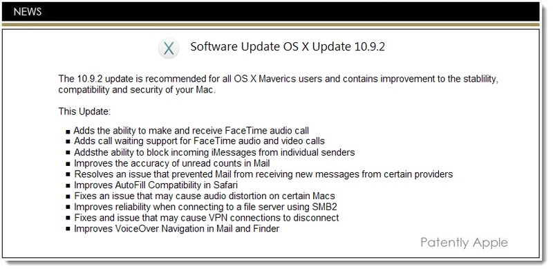 1. Cover Apple Software Update OS X 10.9.2