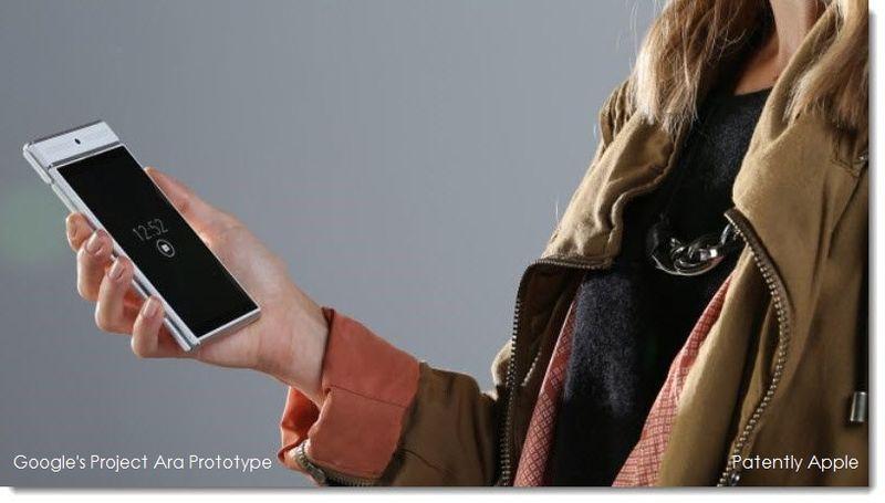 2AA. Project Ara's modular phone photo, Google