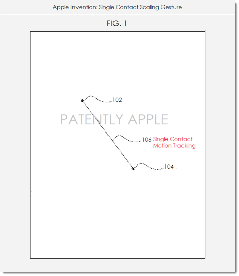 2AA PATENT FIG. 1 APPLE SINGLE GESTURE ZOOM +