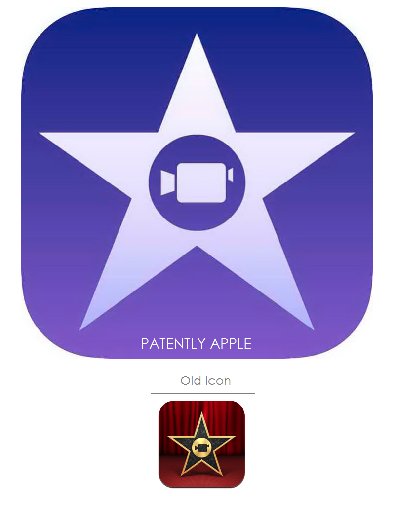 Apple Seeks Trademarks for new iPhoto and iMovie Icons