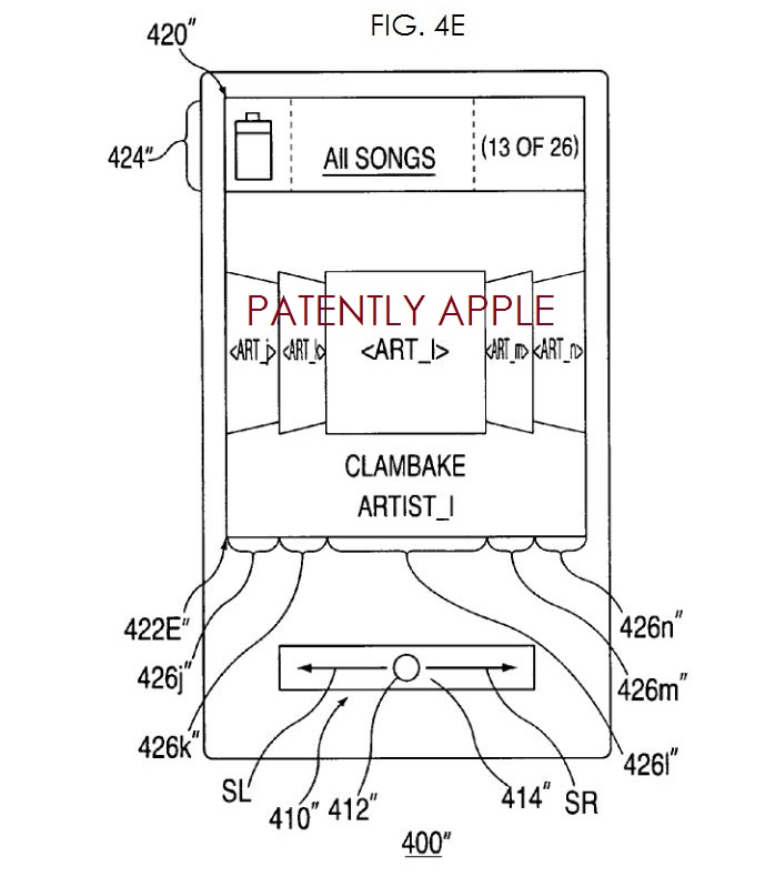 4. coverflow like patent