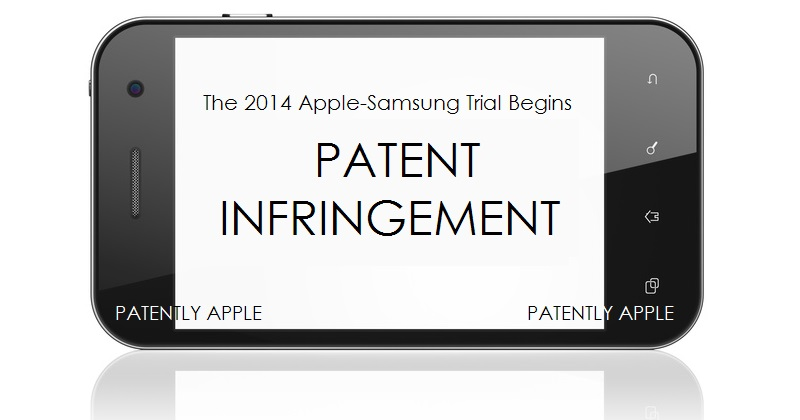 1. Cover Graphic - Apple Samsung 2014 Trial Begins