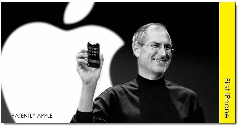 6A. Apple's late CEO Steve Jobs introducing the 2007 iPhone with a revolutionary UI