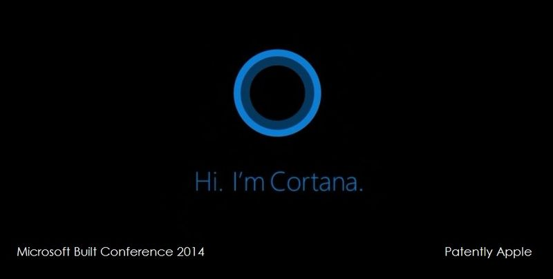 1 - Cover MSFT  Introduces Digital Assistant Cortana