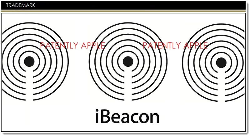 1. Cover, Apple files for 3 new iBeacon TMs for icons color and bw